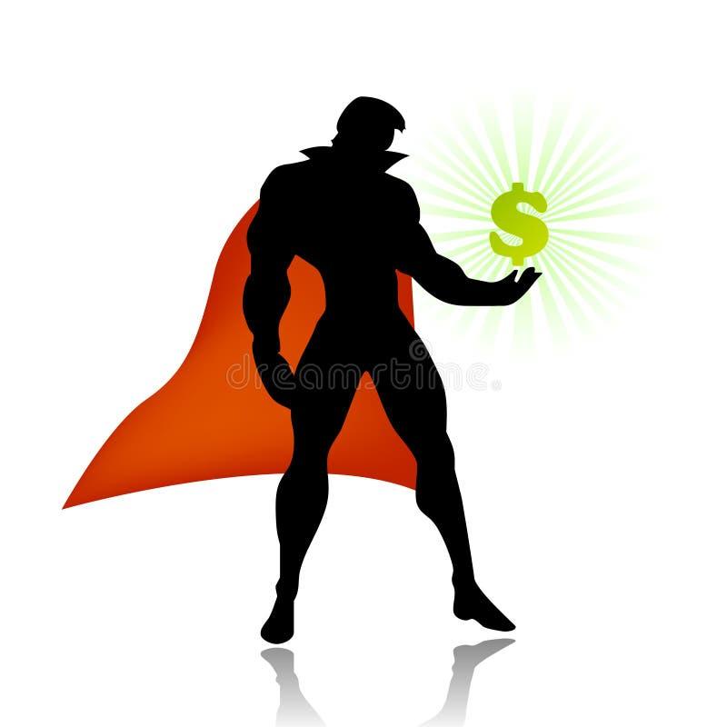 Superheld spart amerikanische Wirtschaftlichkeit