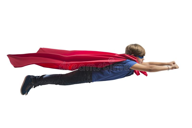 Superheldkind stockbilder
