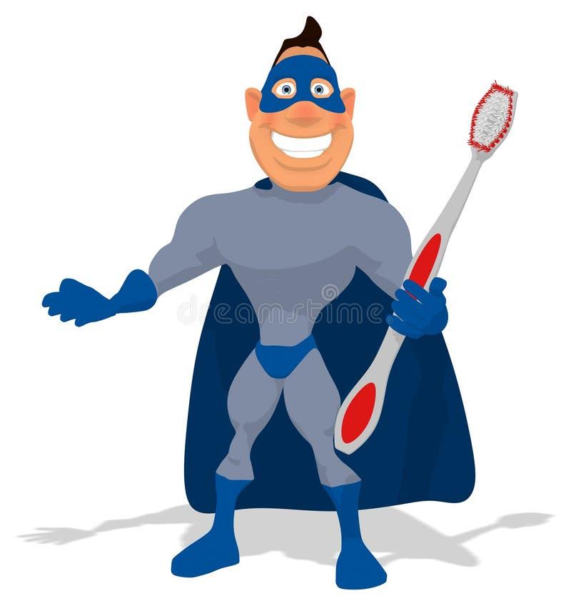 Superhero διασκέδασης ελεύθερη απεικόνιση δικαιώματος