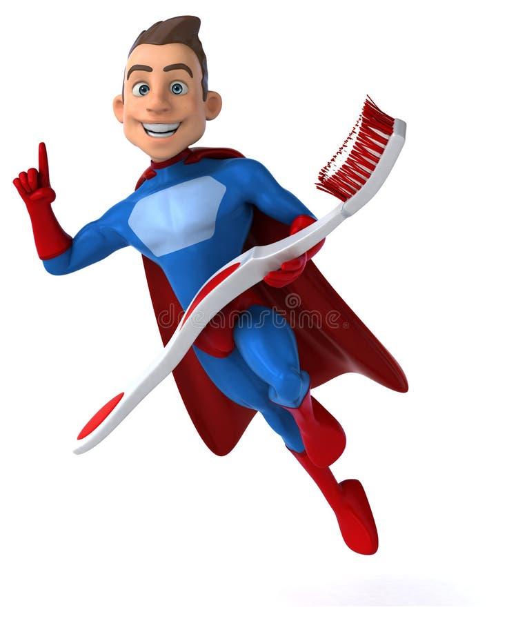 Superhero διασκέδασης απεικόνιση αποθεμάτων