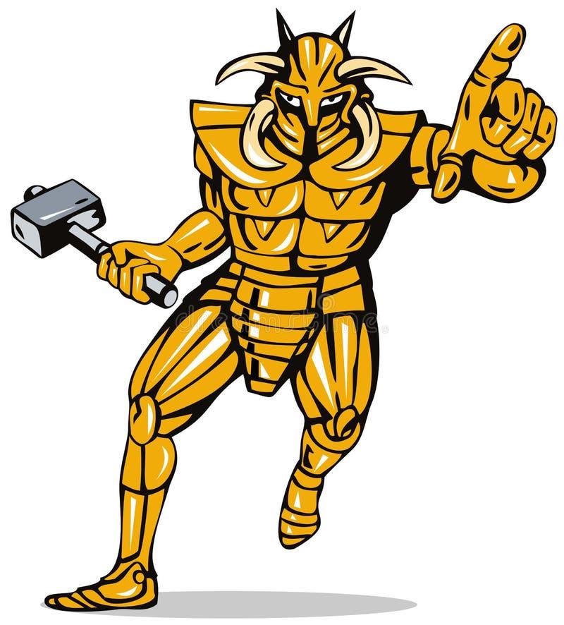 superhero ιπποτών ελεύθερη απεικόνιση δικαιώματος