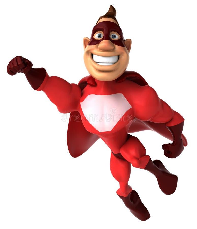 Superhero vector illustratie