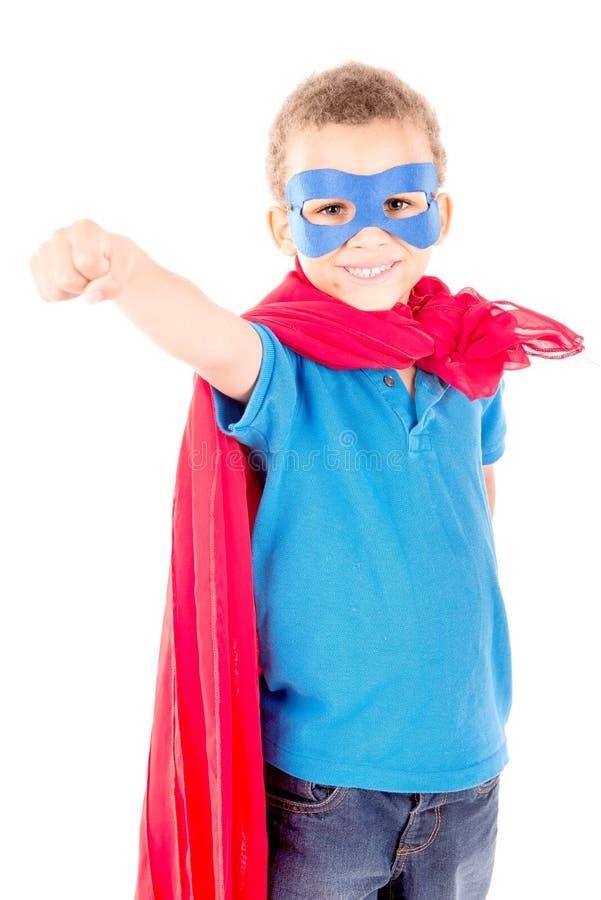 superhero stockbild