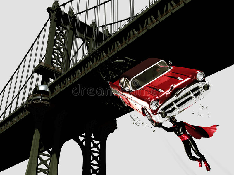 Download Superhero stock illustration. Image of chevy, hero, imagination - 18000081