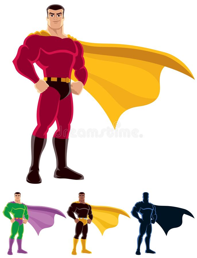 Download Superhero stock vector. Illustration of green, justice - 21034293