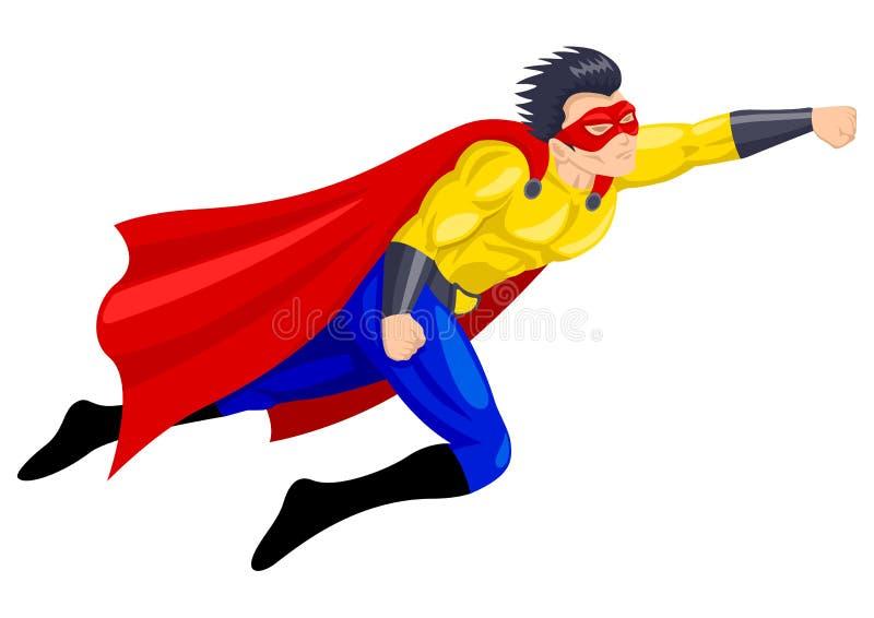 Superhero royalty-vrije illustratie