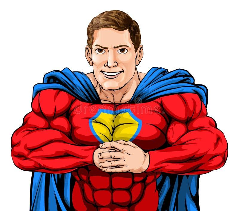 superhero vektor abbildung
