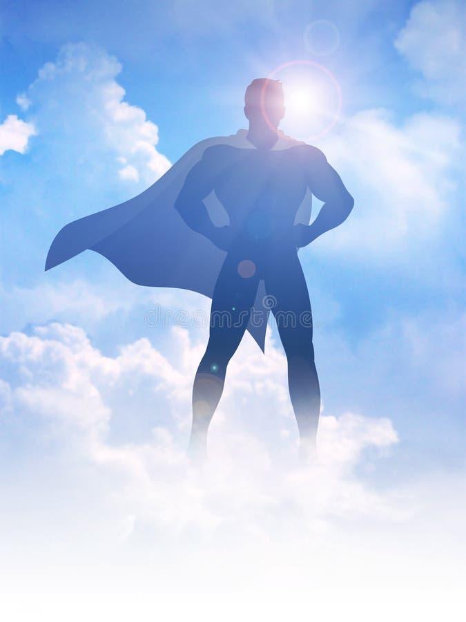 superhero stock abbildung