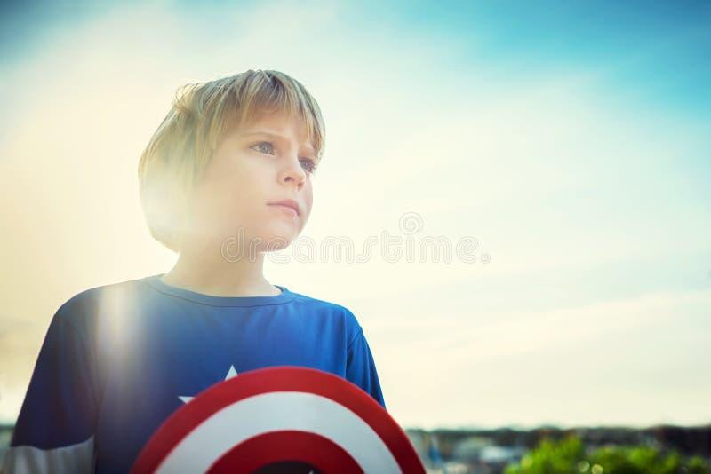 superhero stock fotografie