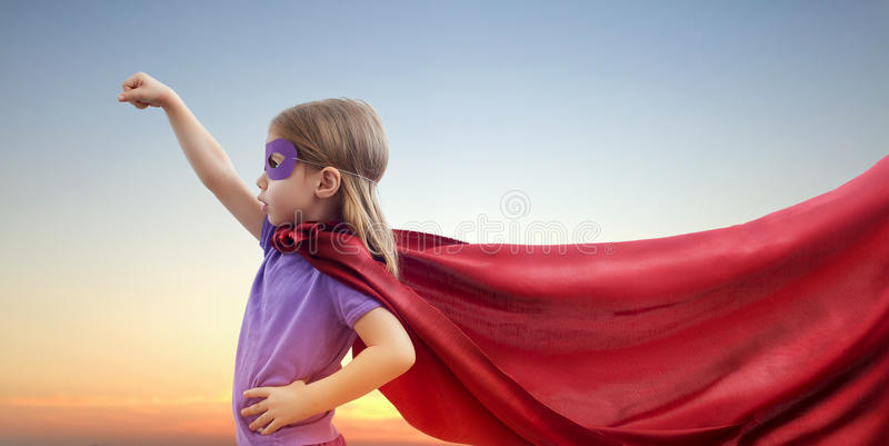 superhero arkivbild