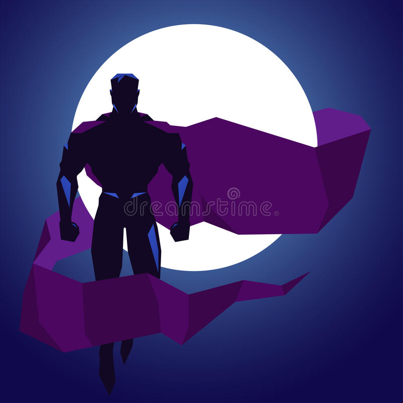 superhero royalty illustrazione gratis