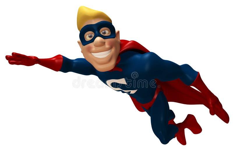 superhero vektor illustrationer