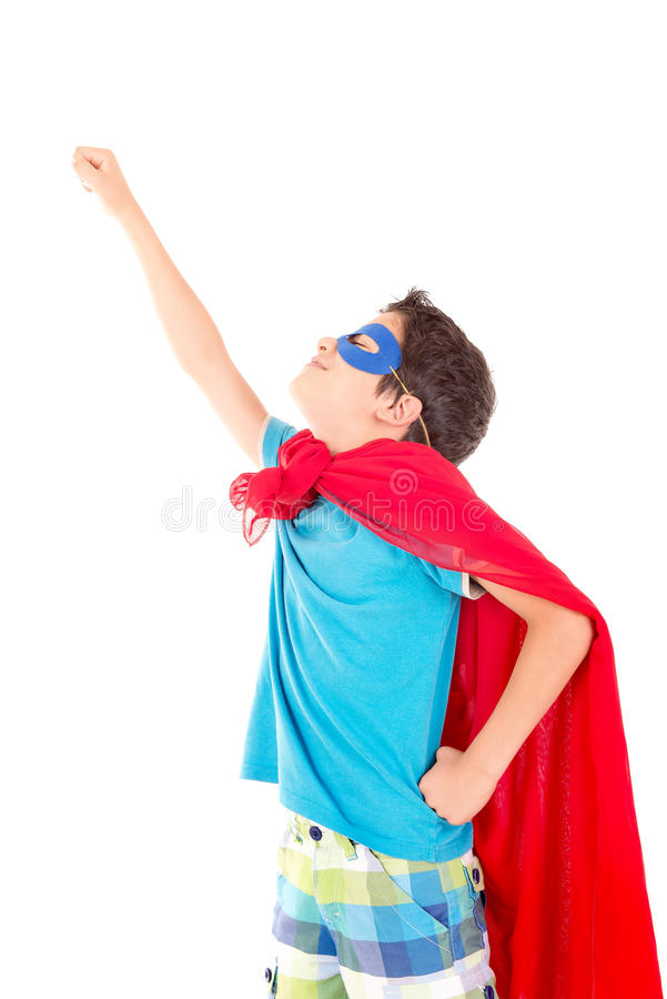 superhero immagine stock
