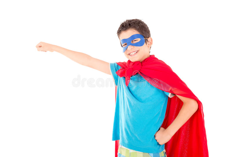 superhero fotografia stock