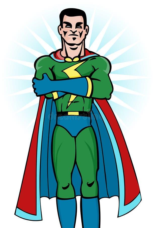 Superhero Image stock