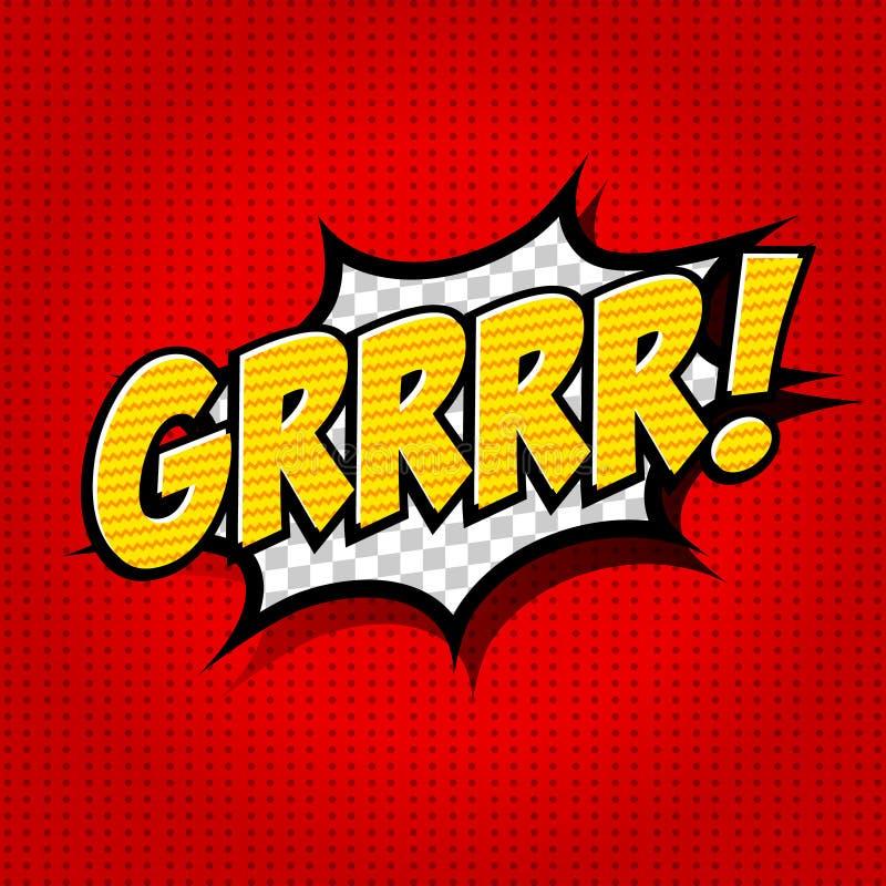 Free Superhero Bashing Comics Bubble With Text Stock Images - 36744754