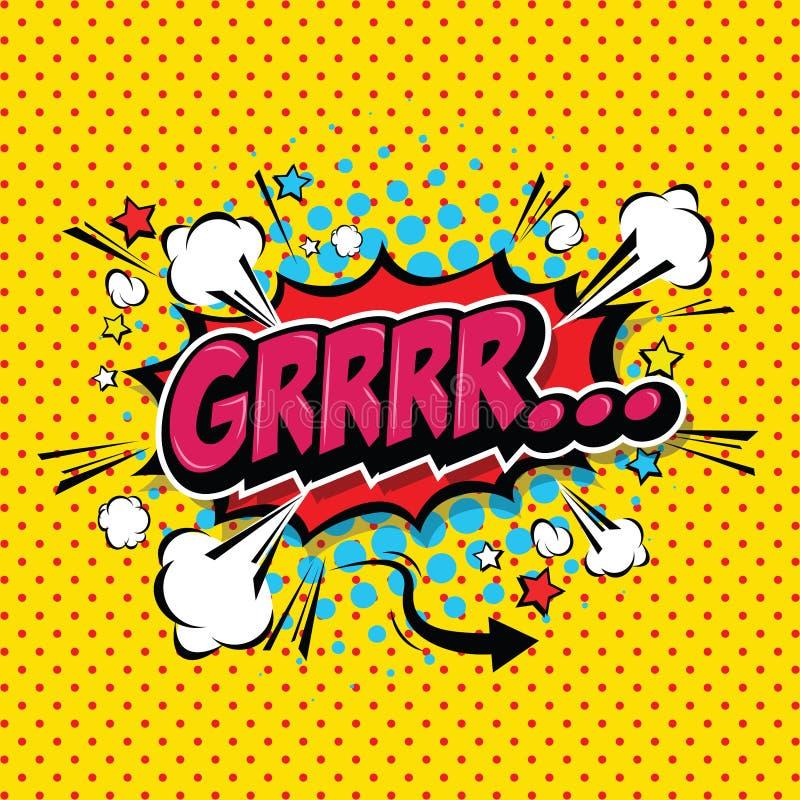 Free Superhero Bashing Comics Bubble With Text Comic Speech Bubble. Royalty Free Stock Image - 173096866