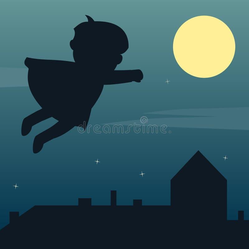 Superhero in het Maanlicht