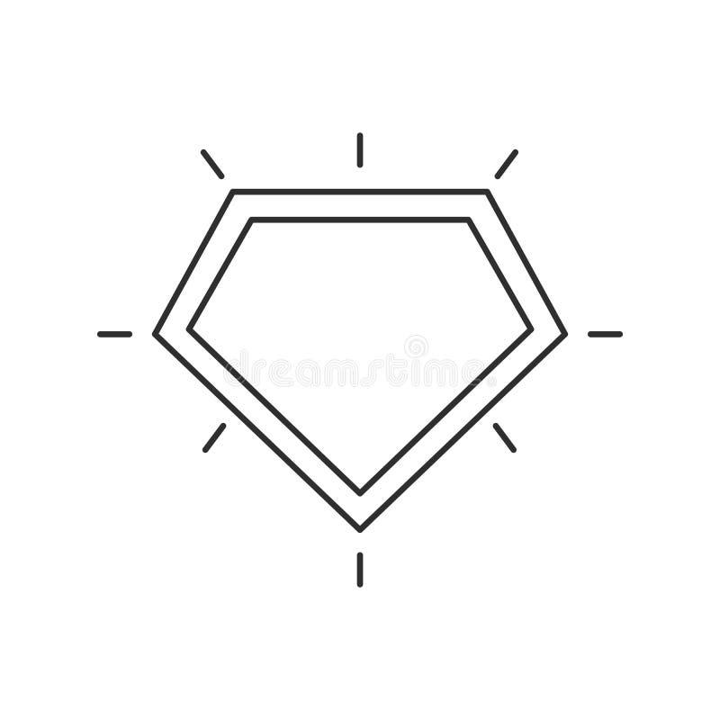 Superhero logo template. vector illustration
