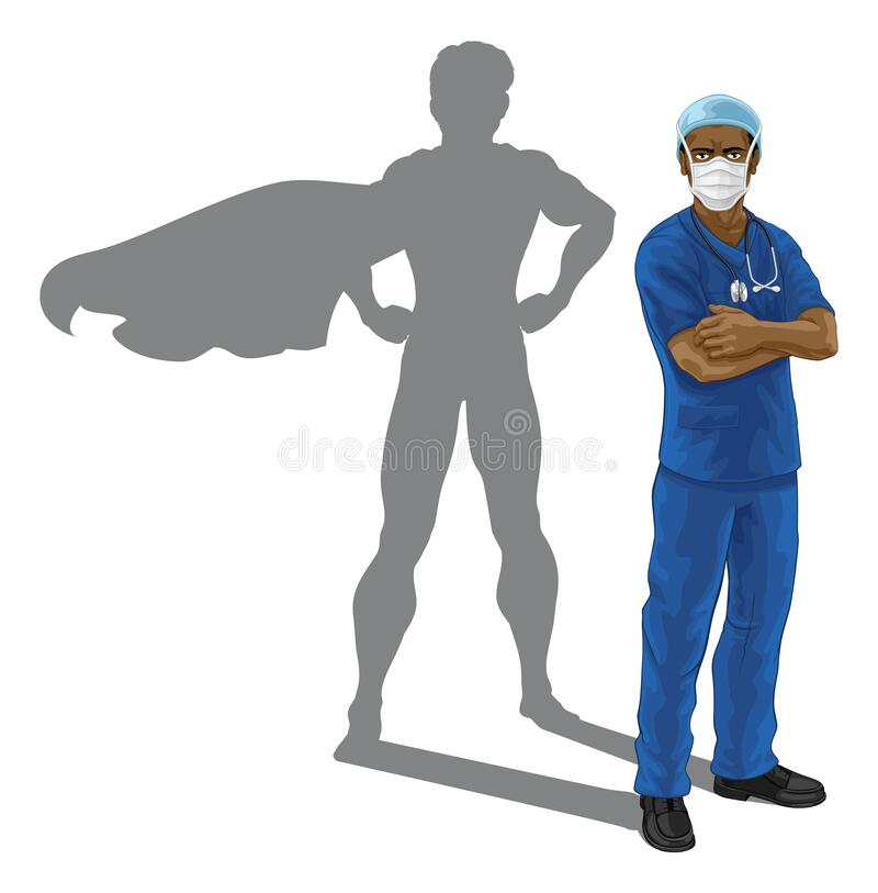 Nurse Doctor Pointing Your Country Needs You Stock Vector ...