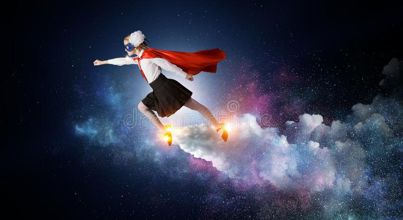 She is wunderkind stock images