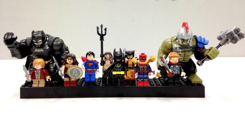 superheroes fotografia de stock royalty free