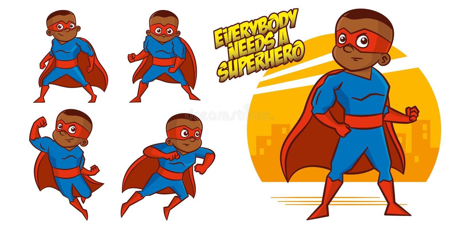 Superhero character Superheroes Set Vector illustration design. Superheroes Set Superhero character Vector illustration design vector illustration