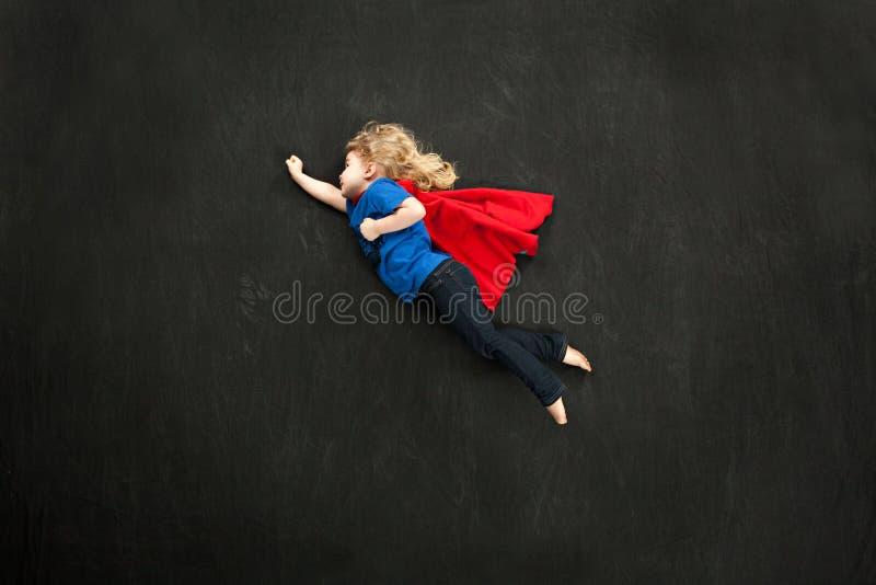 Superheroine doce pequeno fotos de stock royalty free