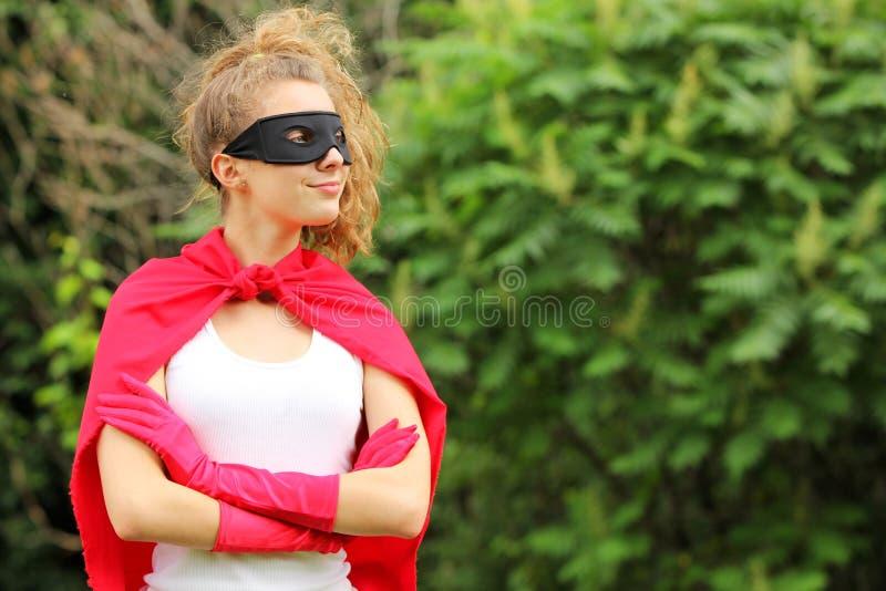 Superheros royaltyfria bilder