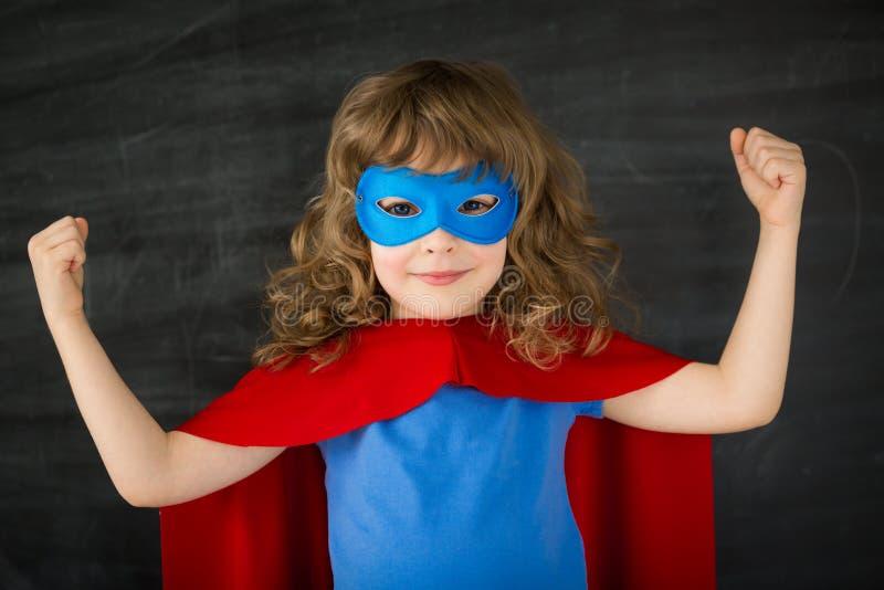 Superherounge royaltyfri foto