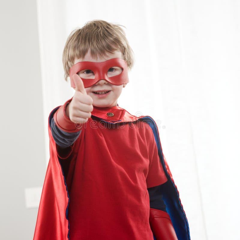 Superherounge fotografering för bildbyråer