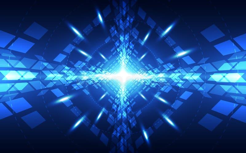 Superhochgeschwindigkeitsdigitaltechnikkonzept des abstrakten Vektors Mehr in meiner Galerie vektor abbildung