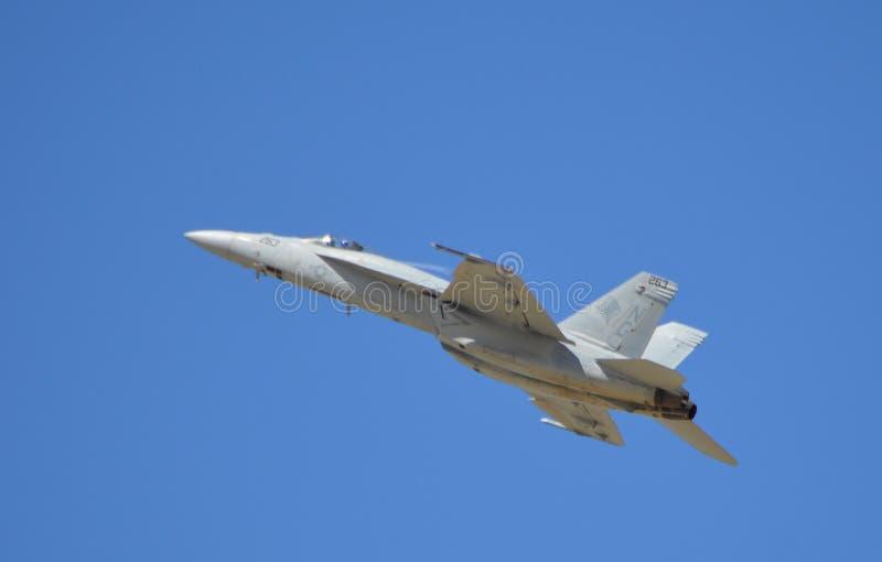Superhornisse F/A-18 lizenzfreie stockfotografie