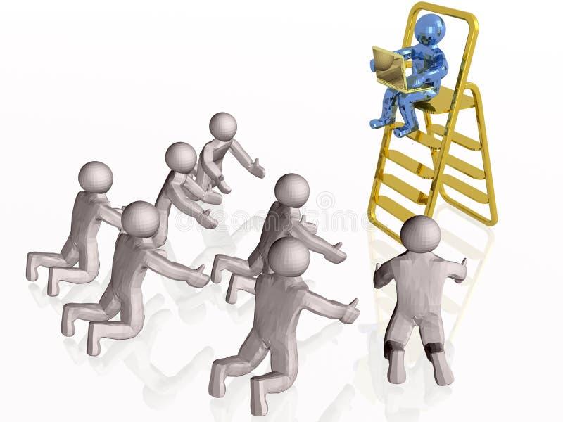 Download Superior stock illustration. Illustration of people, communication - 12873867