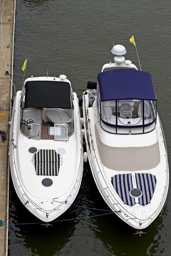Superiore a due barche immagine stock libera da diritti