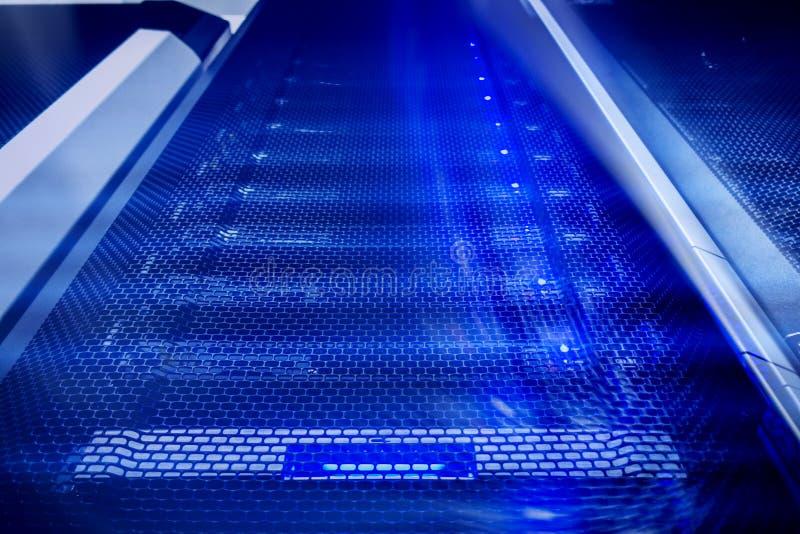 Superkomputerów dane abstrakcjonistyczny pojęcie zdjęcia stock