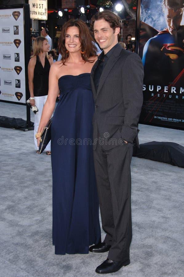 Superman, James Marsden imagem de stock