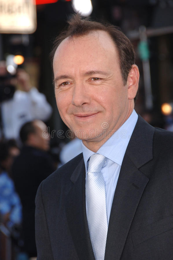 Superman, Kevin Spacey imagens de stock royalty free