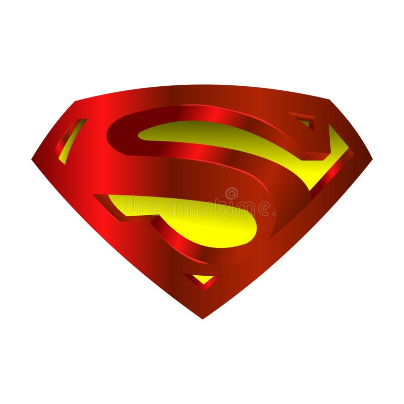 Free Superman Logo Vector. Stock Photo - 110771140