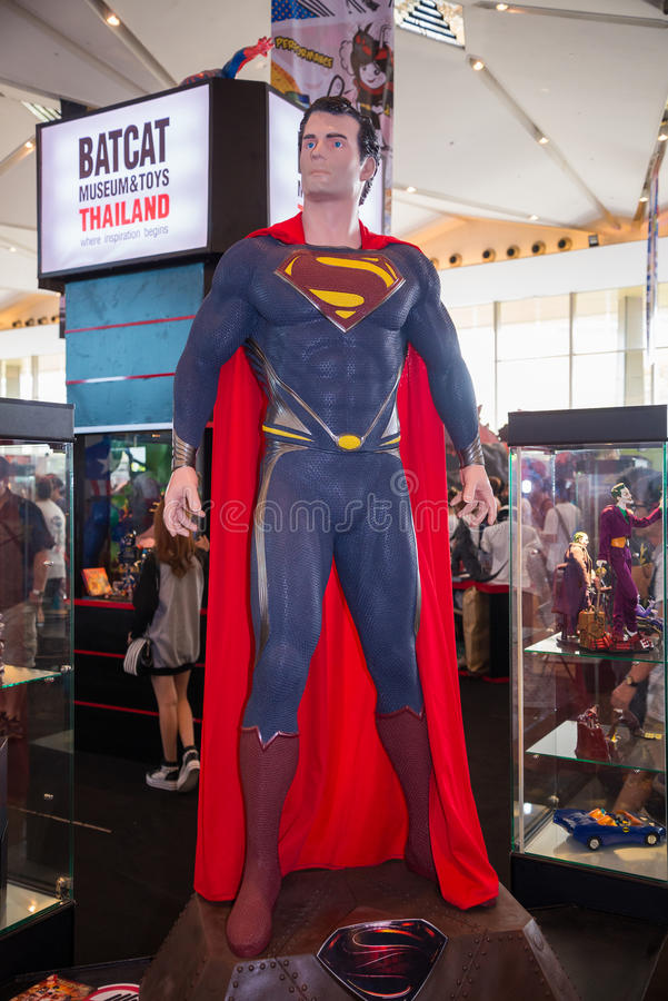 Free Superman Model On Display Royalty Free Stock Image - 40802496
