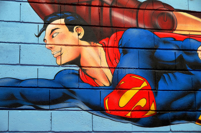 Superman stock photos