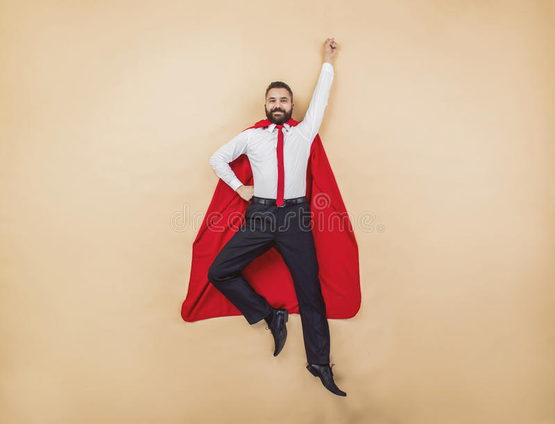 Supermanager lizenzfreie stockfotos