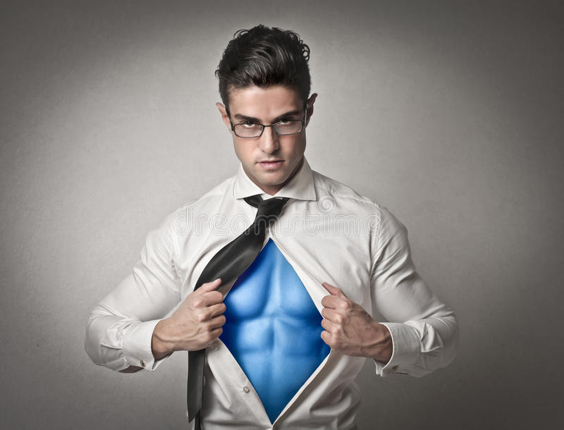 Supermann lizenzfreie stockfotografie