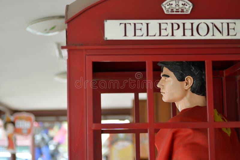 Supermannmodell lizenzfreies stockfoto