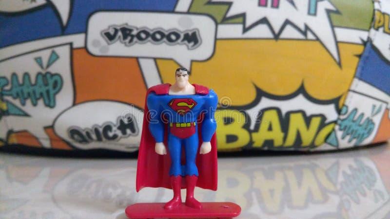 Supermannspielzeug stockfotos