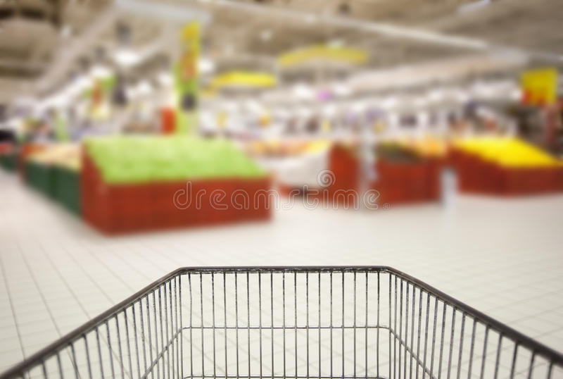 Supermarché image stock