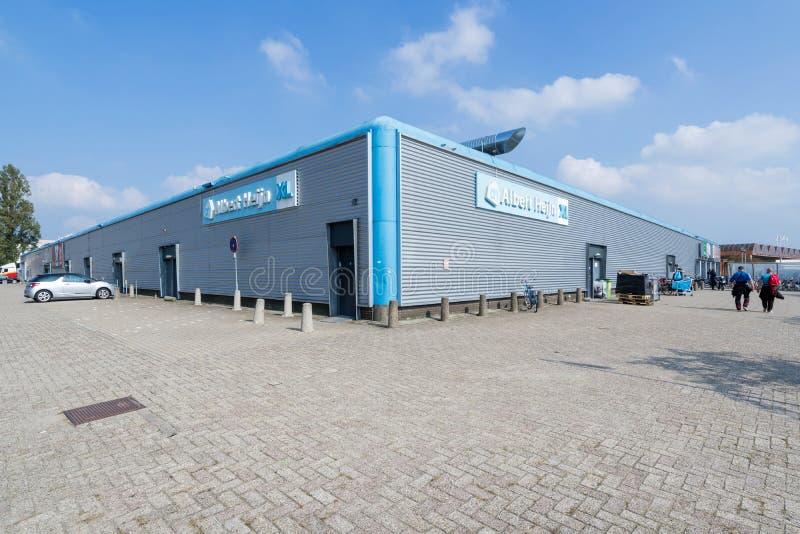 Supermarché d'Albert Heijn XL à Ede images libres de droits