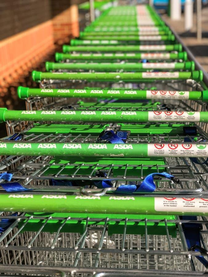 Supermarché d'Asda photo stock