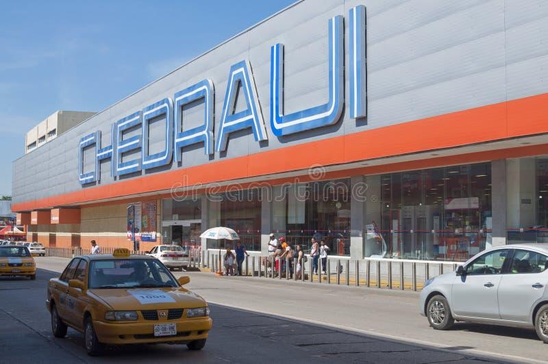 Supermarché de Chedraui images stock