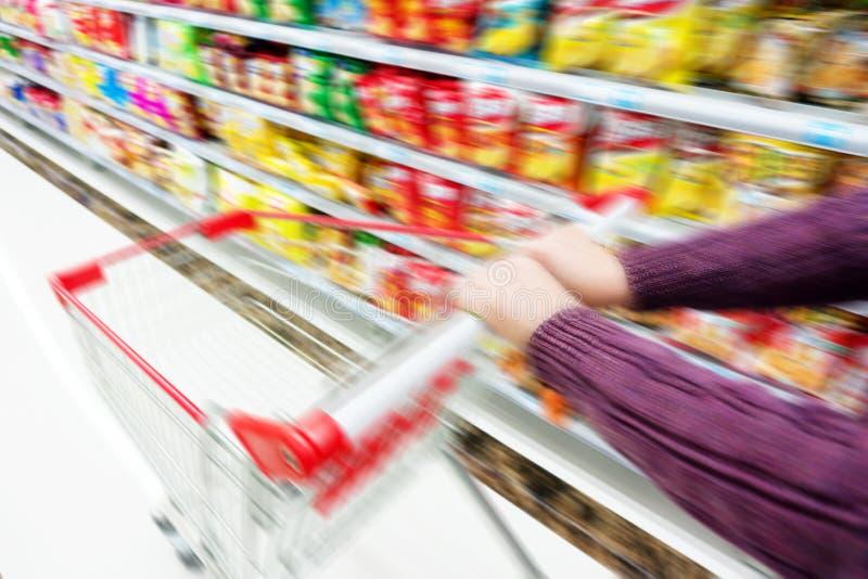 supermarchés images stock